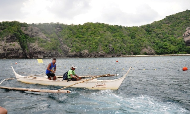 Marine rangers hired by Hamilo development to guard the fish sanctuary